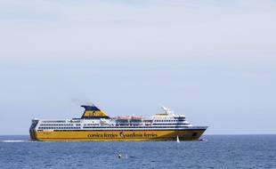 Les navires de Corsica Ferries sont actuellement les seuls à assurer la liaison Nice-Corse