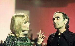 France Gall et Charles Aznavour, ici en duo en 1976 pour l'émission
