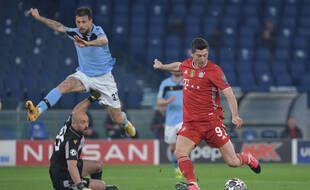 Robert Lewandowski a martyrisé la défense de la Lazio en 8e de finale aller de la C1.