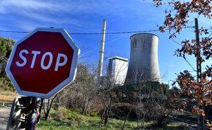 La centrale à charbon de Gardanne
