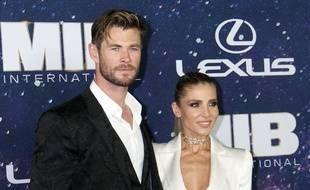 L'acteur Chris Hemsworth et sa femme Elsa Pataky