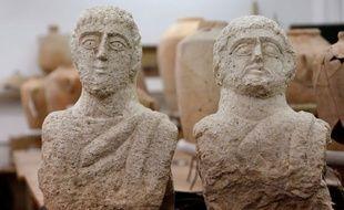 Deux bustes datant de l'époque romaine ont été retrouvés dans le nord d'Israël.