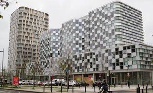 Quartier Euronantes Gare depuis le mail Picasso.