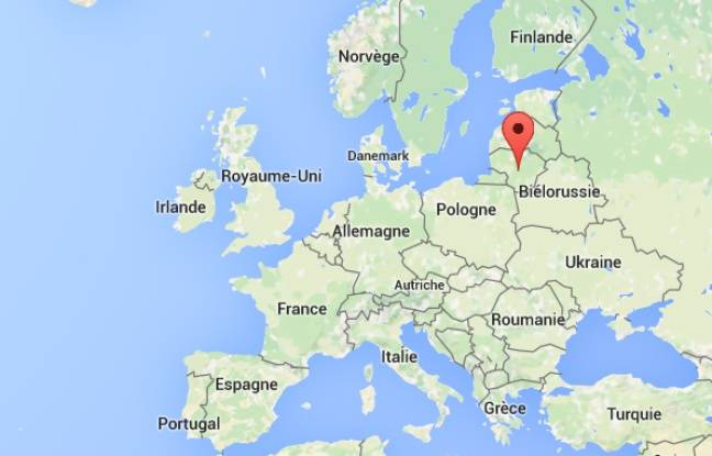 Localisation de la Lituanie.