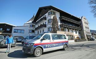 Une voiture de police à Seeland