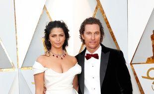 Les époux Camila Alves et Matthew McConaughey