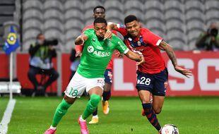 Lille n'a pas réussi à battre Saint-Etienne