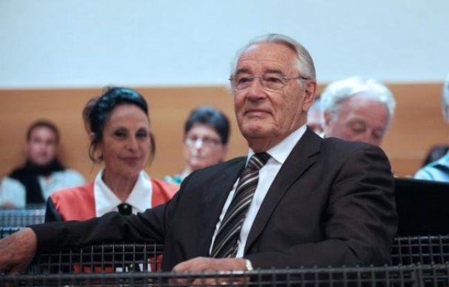 L'ancien maire de Nice (1995-2008), Jacques Peyrat (archives)