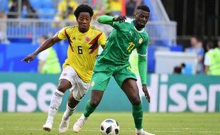 L'attquant sénégalais M'Baye Niang a joué la Coupe du monde en Russie cet été. Ici face à la Colombie.