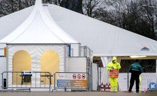 Un centre de tests aux Pays-Bas, à Hilversum, le 30 janvier 2021.