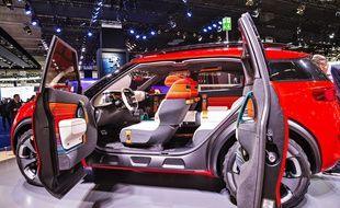 Le véhicule inspiré du concept-car Aircross de Citroën, ici présenté au salon de Francfort, sera produit dans l'usine de Rennes.