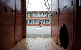 Marseille le 26 janvier 2012 - L'école primaire saint Gabriel