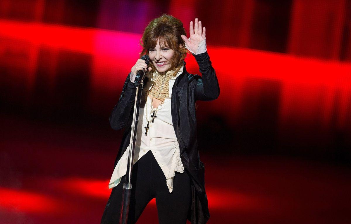 Mylène Farmer aux NRJ Music Award, en janvier 2013, à Cannes. – NIVIERE/NMA13/SIPA