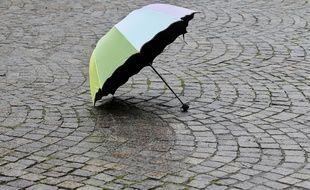 Photo d'illustration d'un parapluie.