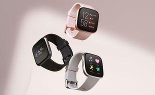 Les montres Fitbit capables de détecter les premiers symptômes de la covid-19