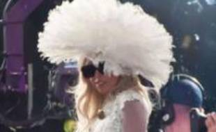 Lady Gaga en concert le 18 août 2011