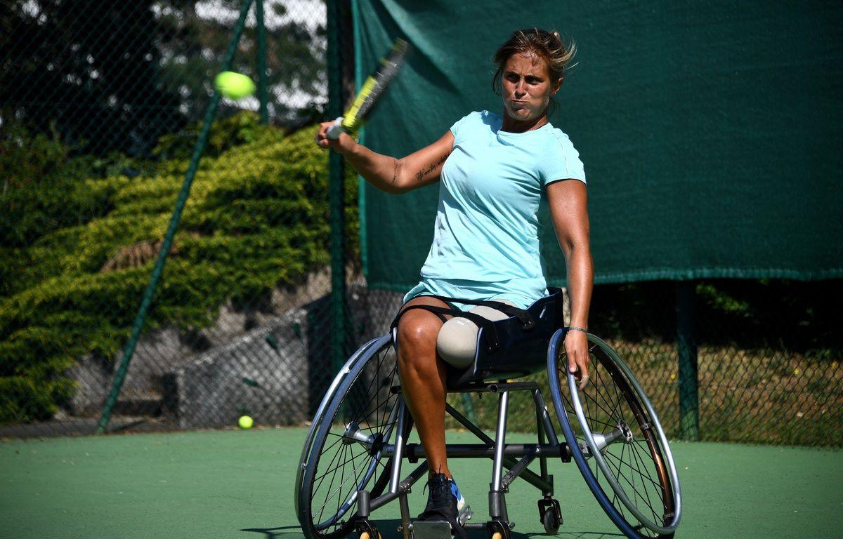 Tennis : Pauline Déroulède raconte son accident et sa détermination à participer aux Jeux paralympiques