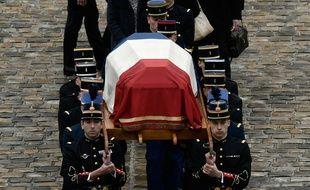 Un hommage national a été rendu à Arnaud Beltrame, tué après s'être substituté à un otage de Trèbes.