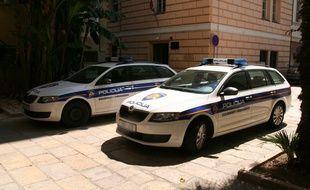 Une voiture de police en Croatie (illustration).