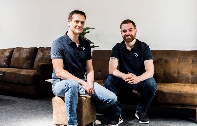 Pierre-Jean Brena (à gauche) et Romain Lugas ont fondé Reiv, un complexe de réalité virtuelle qui ouvre ce mercredi 29 mai à Bordeaux.