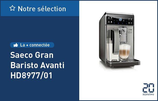 La machine à café automatique Saeco GranBaristo Avanti HD8977/01 .