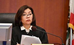 La juge Suzanne Ramos Bolanos lit le verdict condamnant Monsanto, vendredi 10 août, à la Superior Court Of California à San Francisco.