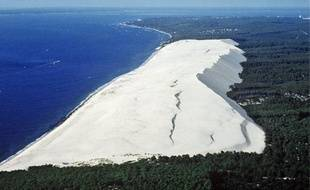 La dune du Pilat est le site naturel le plus célèbre et le plus couru de la région.