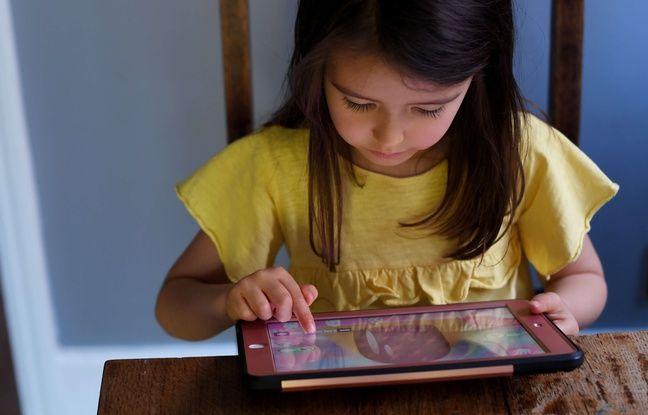 Pendant le confinement, les enfants de 6 à 12 ans ont passé 7 heures par jour derrière les écrans...mais en grande partie à des fins éducatives