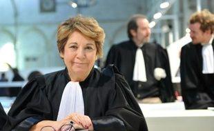 L'ancienne ministre Corinne Lepage, avocate de 115 parties civiles au procès en appel des anciens élus de La Faute-sur-Mer, le 18 novembre 2015