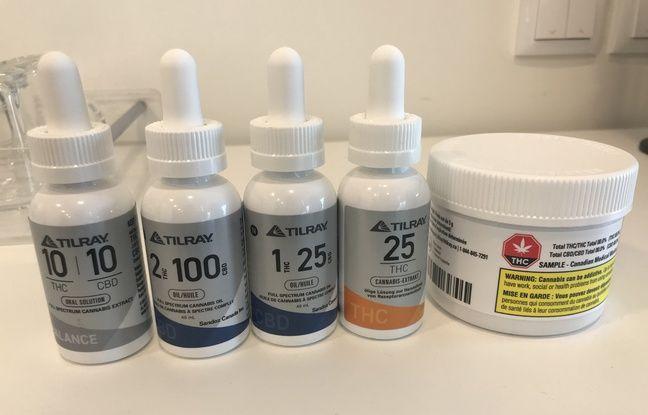 Sur son site portugais, la firme Tilray produit du cannabis thérapeutique sous forme de fleurs séchées et d'huile en flacon.