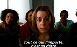 Marisa, l'une des aides-soignantes ayant tenté de dialoguer avec François Fillon n'a pas mâché ses mots.