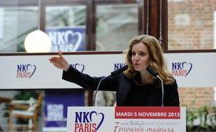 La candidate UMP à la Mairie de Paris, Nathalie Kosciusko-Morizet a présenté mardi 5 novembre son projet pour les municipales 2014.