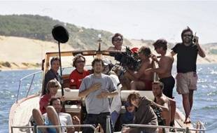 Sur le tournage des «Petits mouchoirs», un film de pote tourné avec des potes.