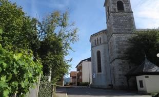 Le paisible village de Domessin en Savoie, où réside l'homme suspecté d'avoir enlevé la petite Maëlys