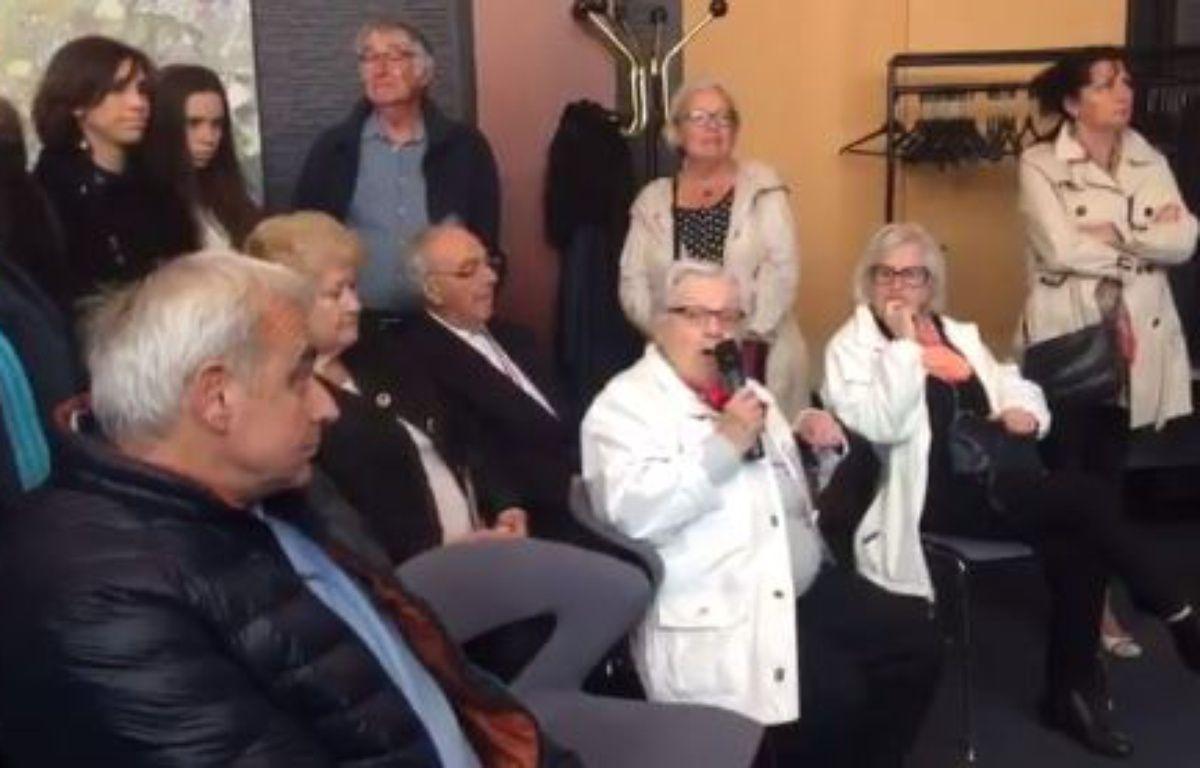 L'ancienne résistante Christiane Cabalé à Saint-Nazaire. – Capture d'écran/Twitter