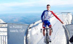 Bruno Armirail (Groupama-FDJ) en stage au Pic du Midi.