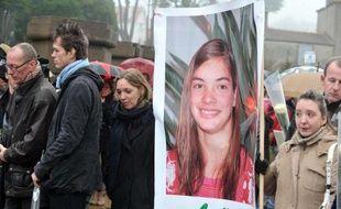 La photo de Laetitia Perrais lors d'une marche silencieuse le 18 janvier 2012 à La Bernerie-en-Retz