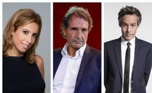 Léa Salamé, Jean-Jacques Bourdin et Yann Barthès.