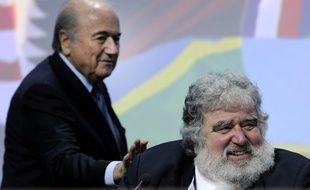 Chuck Blazer et Sepp Blatter le 1er juin 2011.