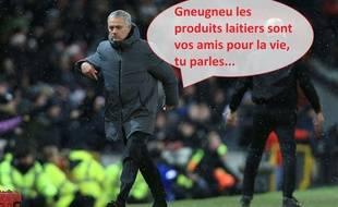 José Mourinho était énervé après la défaite des siens