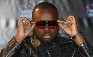 Maître Gims aux NRJ Music Awards, le 12 novembre 2016, à Cannes.