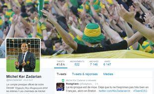 Le compte parodique de Michel Der Zakarian.