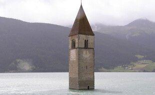Le village de Curon refait surface ces dernières semaines en Italie.