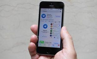 L'application de messagerie Telegram.