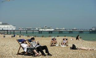 Image d'illustration d'une plage près d'Eastbourne, en Angleterre, le 25 mai 2012.