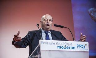 Le président du PRG Jean-Michel Baylet le 19 octobre 2014.