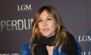 L'actrice Mathilde Seigner à l'avant-première du film «Éperdument» à Paris le 29 février 2016