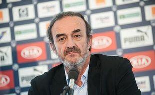 Le président des Girondins de Bordeaux, Jean-Louis Triaud.