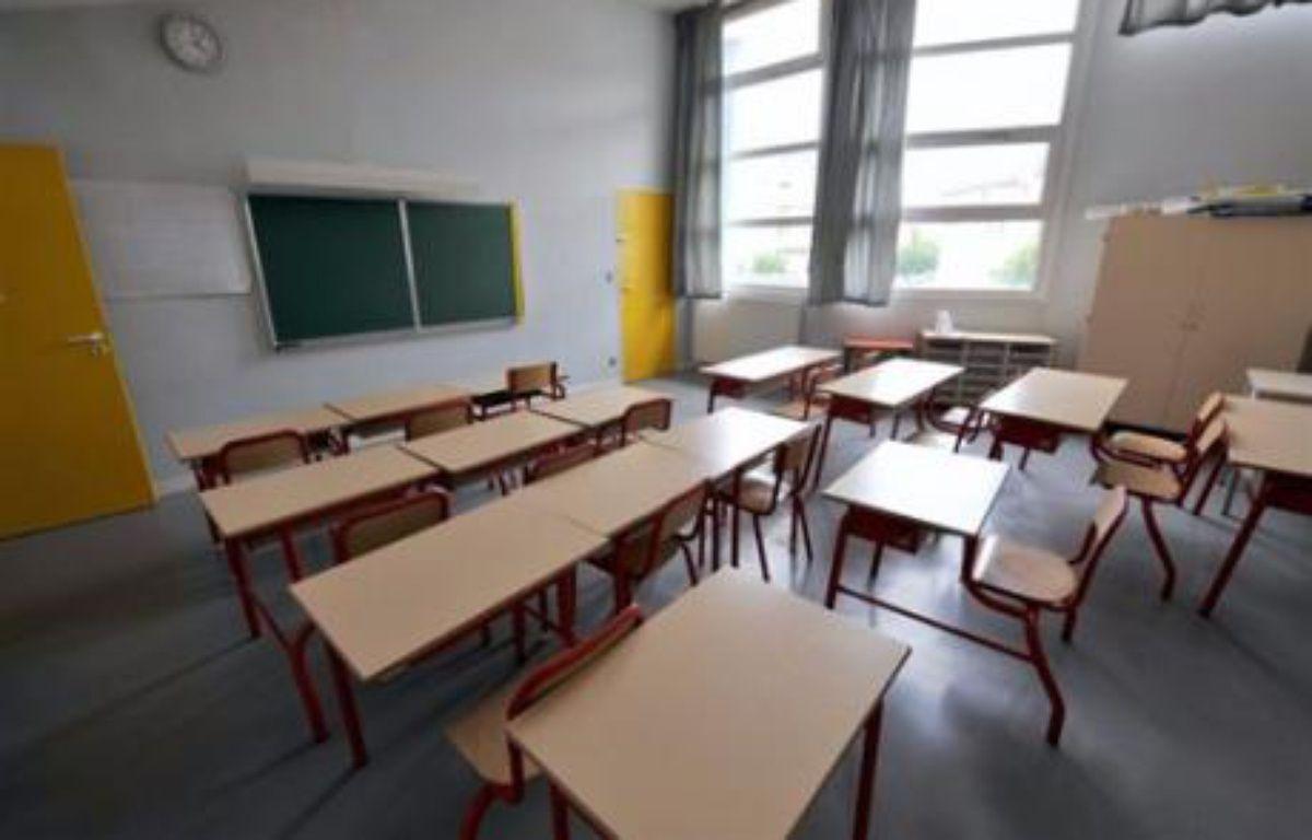 Une salle de classe vide – Mychele Daniau AFP/Archives