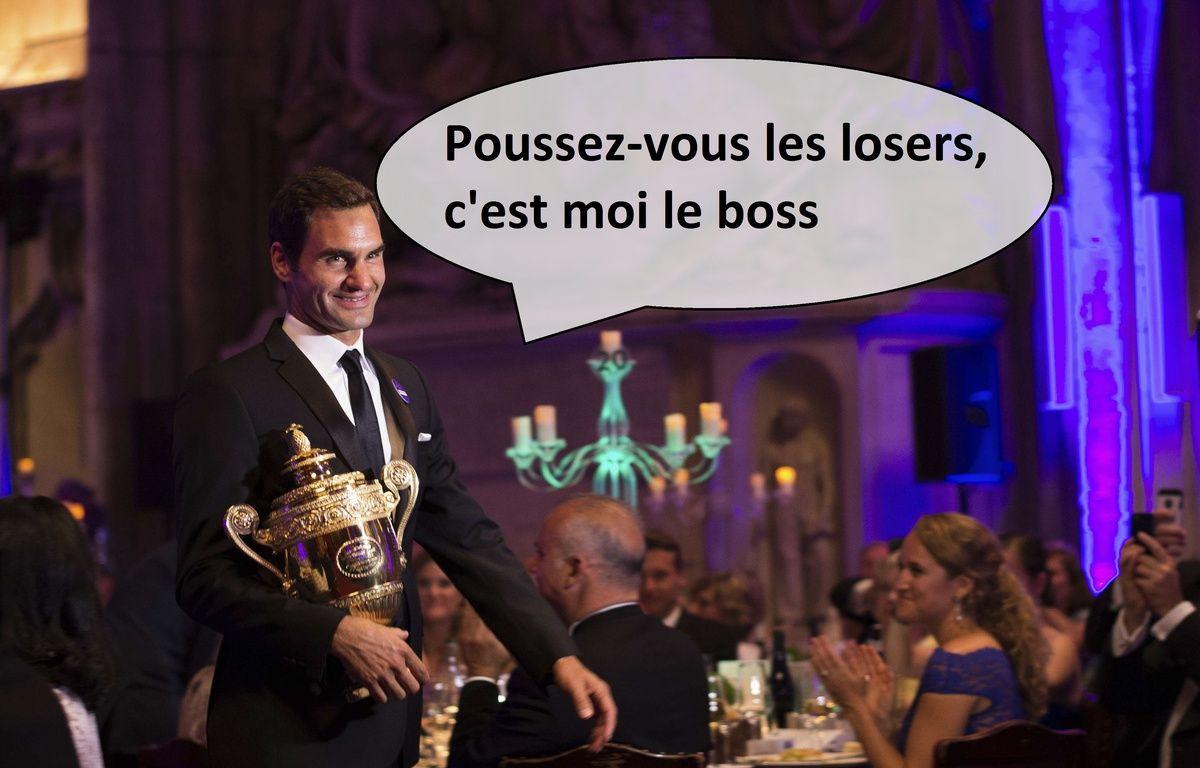 The boss Federer – SIPA